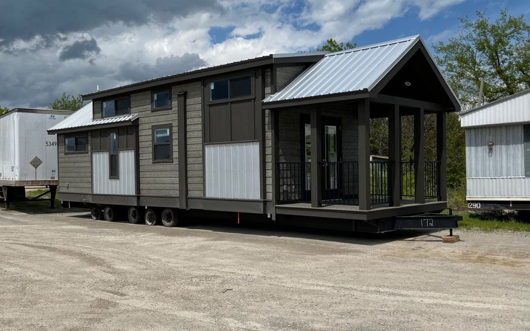"""2021 Tiny House """"The Alexander"""" — 12'x46′ — 1 bedroom, 2 bunk beds and loft"""